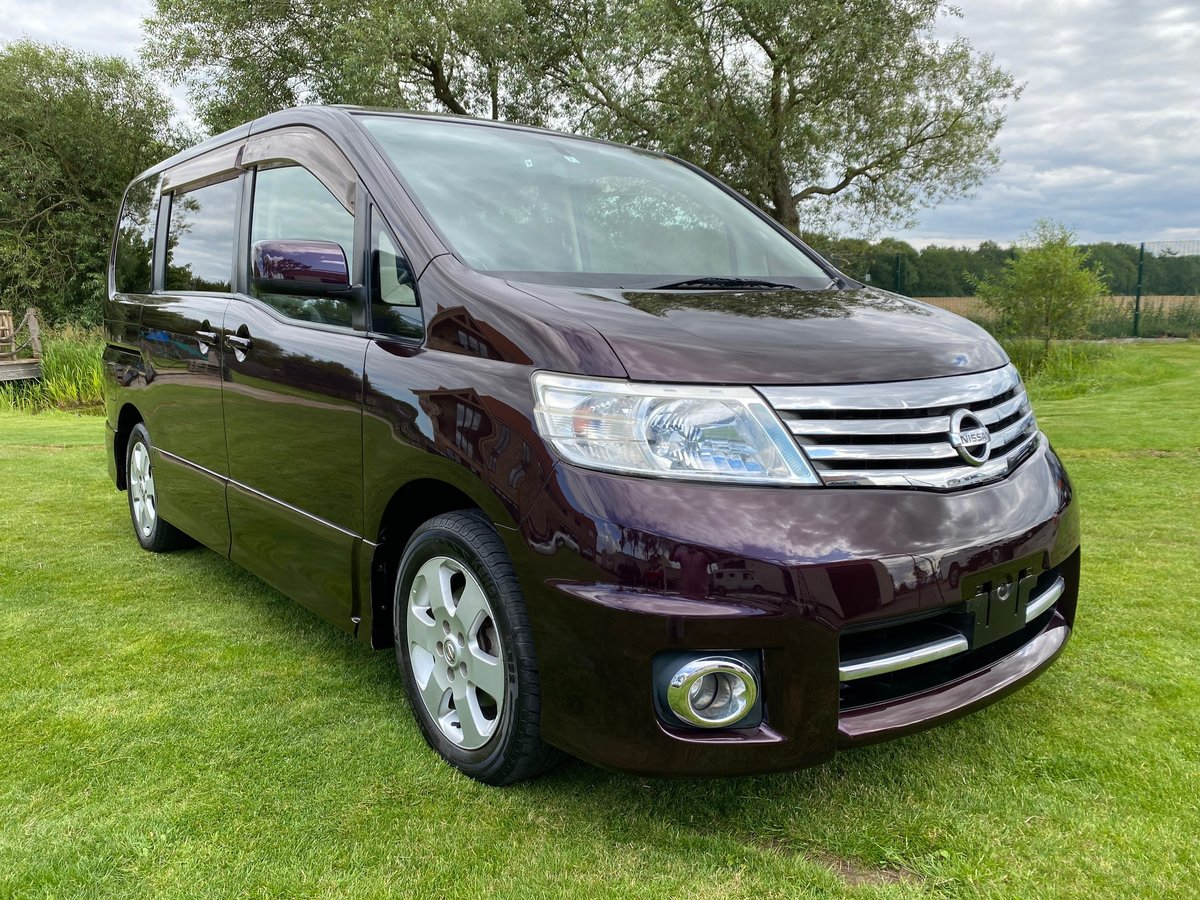 2007 NISSAN SERENA FACELIFT 2.0 HIGHWAY STAR URBAN * 8 SEATER For Sale (picture 1 of 6)