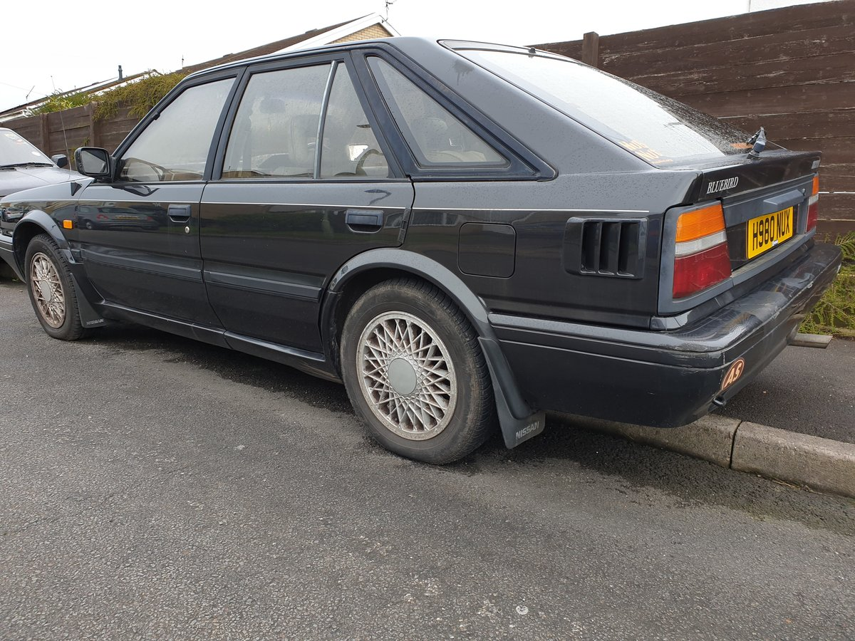 1990 Nissan Bluebird Executive 2.0i H Reg For Sale (picture 5 of 6)