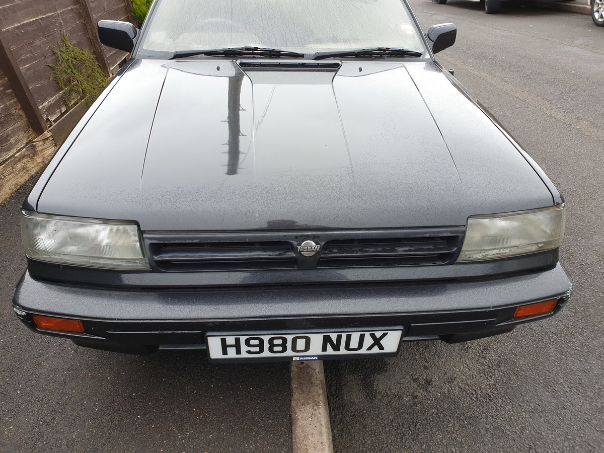 1990 Nissan Bluebird Executive 2.0i H Reg For Sale (picture 6 of 6)