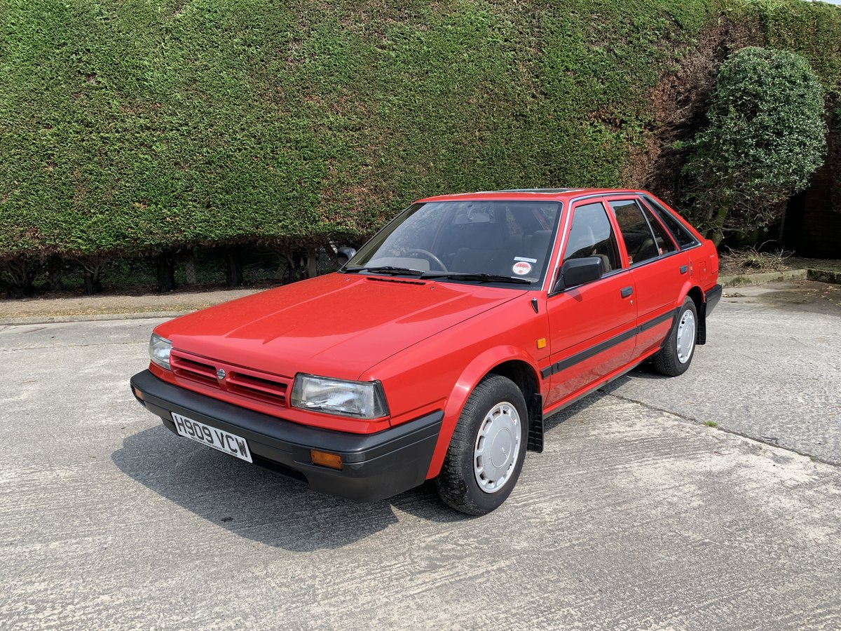 1990 Nissan Bluebird Hatchback Manual Petrol 52000 For Sale (picture 1 of 6)