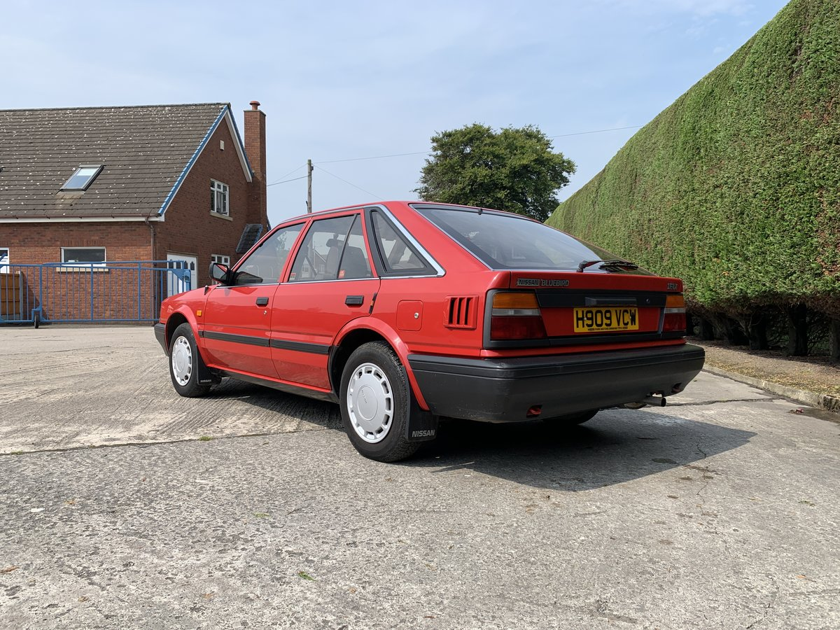 1990 Nissan Bluebird Hatchback Manual Petrol 52000 For Sale (picture 4 of 6)