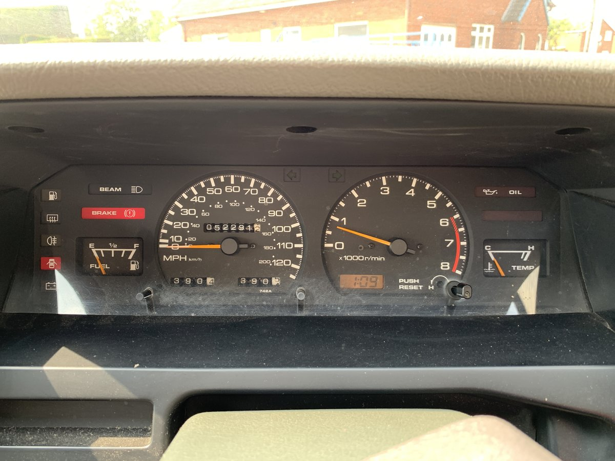 1990 Nissan Bluebird Hatchback Manual Petrol 52000 For Sale (picture 6 of 6)