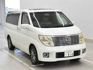 NISSAN ELGRAND 3.5 X 4X4 RECLINER SEATS SUNROOFS *