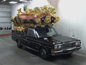 NISSAN PRESIDENT RARE OLD VIP 4.4 BUDDHIST HEARSE ASIAN
