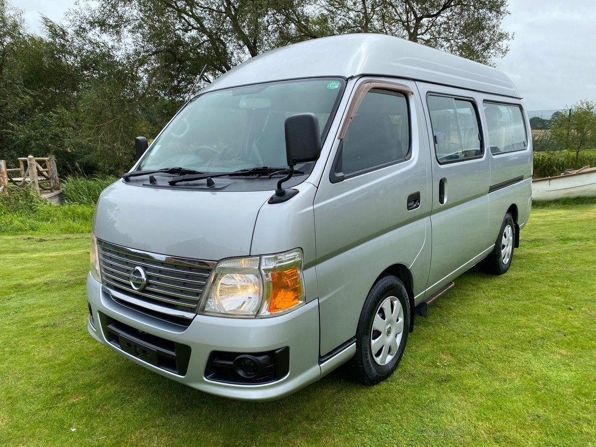 2006 NISSAN CARAVAN WELCAB 2.4 GX AUTOMATIC * 9 SEATS * REAR WHEE For Sale (picture 1 of 6)
