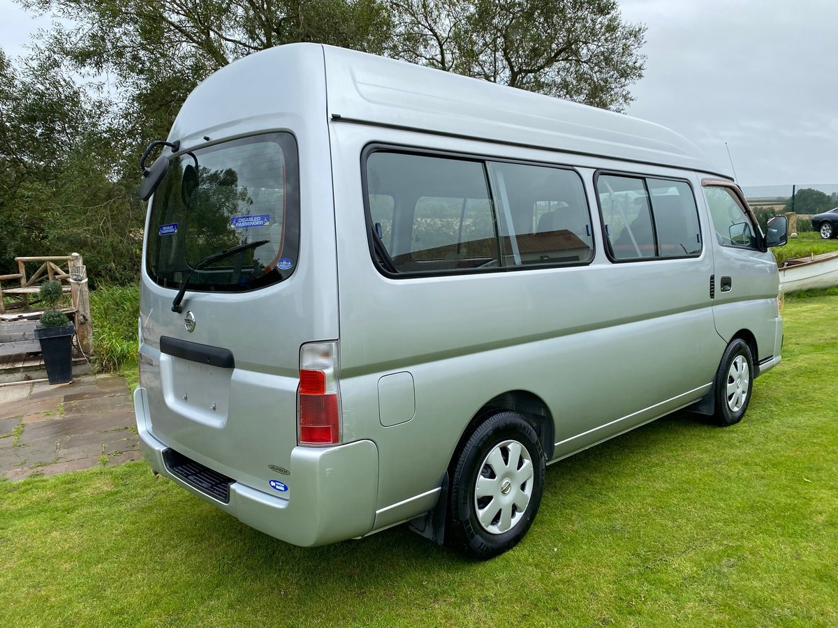 2006 NISSAN CARAVAN WELCAB 2.4 GX AUTOMATIC * 9 SEATS * REAR WHEE For Sale (picture 2 of 6)