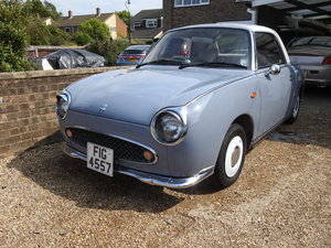 Nissan Figaro with Private Plate