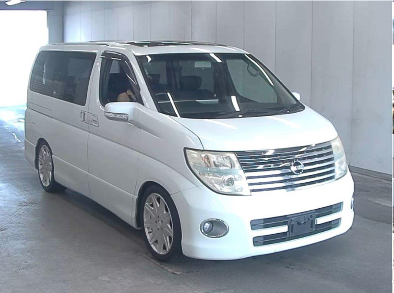 2005 NISSAN ELGRAND 2.5 HIGHWAY STAR 8 SEATER * TWIN SUNROOF * For Sale (picture 2 of 6)