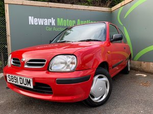 1999 Ist October Auction entry - physical sale! Low Miles Micra!