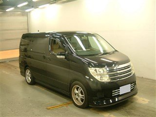 NISSAN ELGRAND 2.5 V POWER DOOR BODY KIT & SIDE SKIRTS