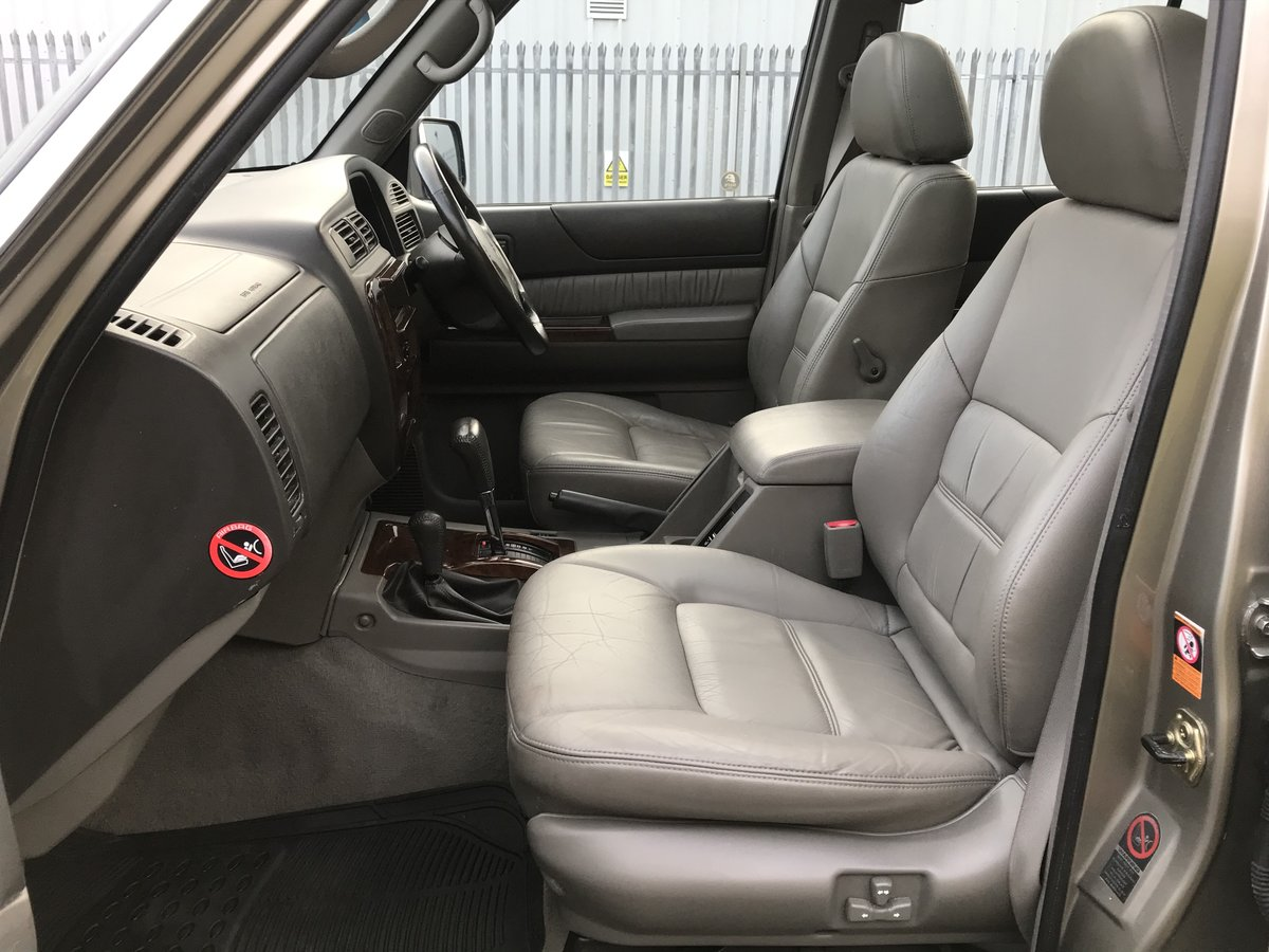 2002 02 Nissan Patrol GR 3.0 Di SE+ LWB Automatic For Sale (picture 5 of 6)