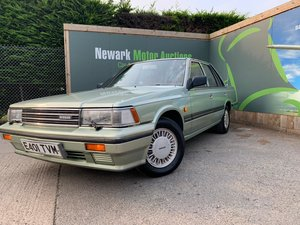 1987 Ist October Auction entry - physical sale! NIssan Laurel SGX