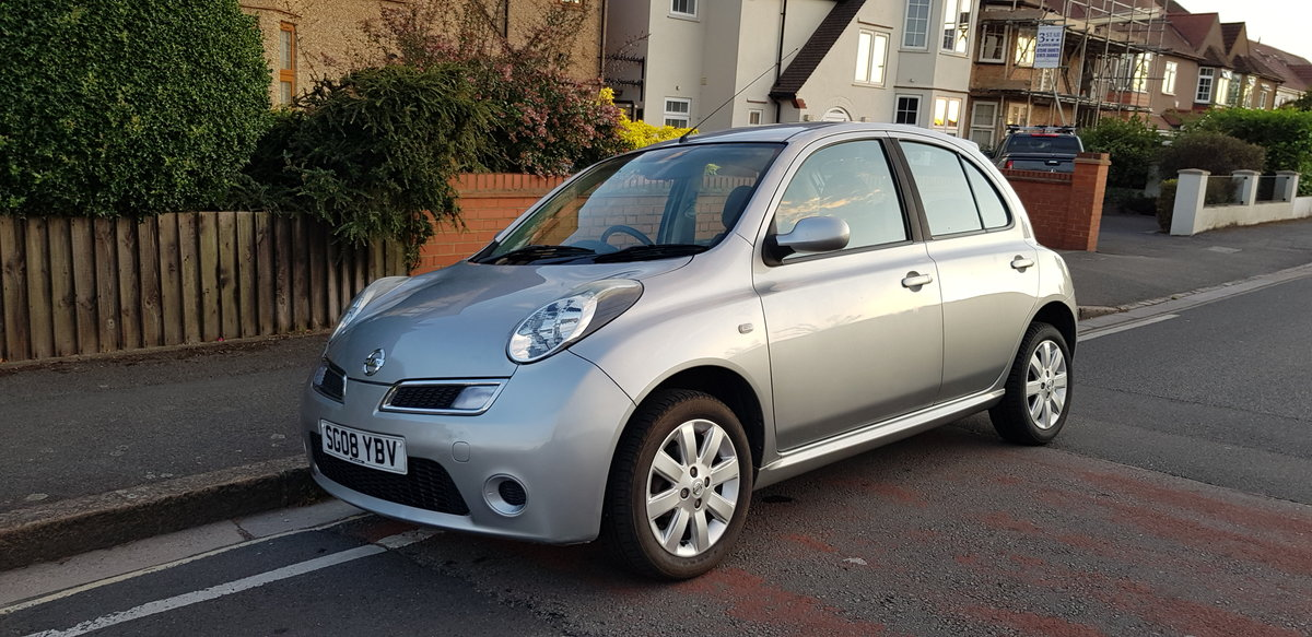 2008 Micra 1.2 16V ACENTA,  GENUINE LOW MILEAGE, FSH For Sale (picture 1 of 6)