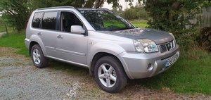 2005 55 Nissan X Trail 2.2DCi SVE 6spd 92k fsh Sat Nav new mot  For Sale