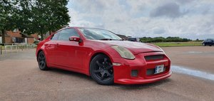 Nissan Skyline 350 GT Premium Red