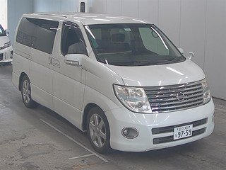 2007 NISSAN ELGRAND 2.5 HIGHWAY STAR 8 SEATER * REVERSE CAMERA *