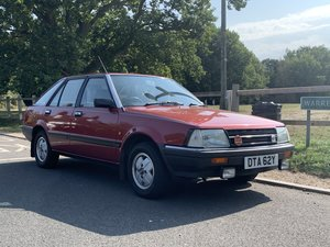 1983 Datsun Stanza 1.6SGL low mileage new home needed