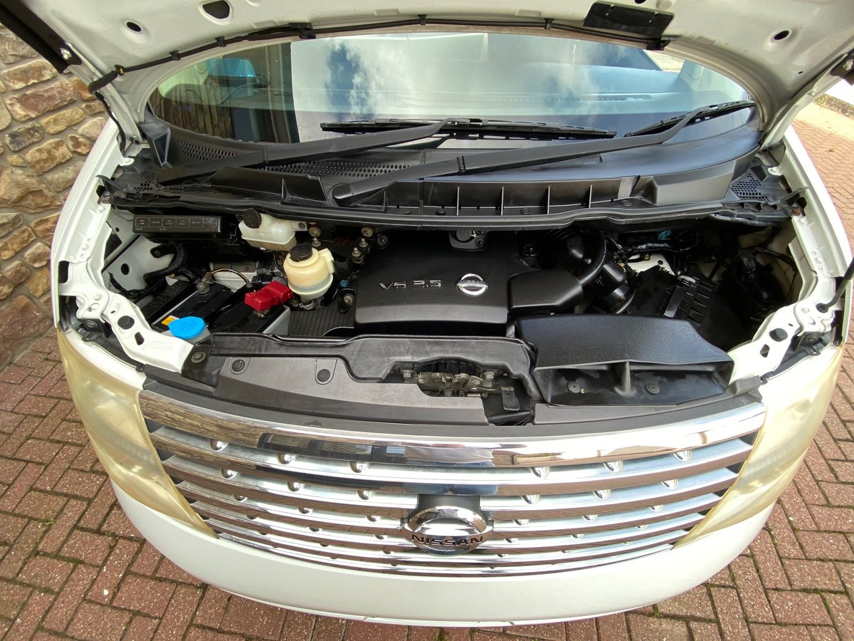 2005 NISSAN ELGRAND 3.5 HIGHWAY STAR AERO KIT PEARL WHITE *  For Sale (picture 6 of 6)