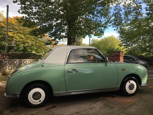 Picture of 1991 Emerald Green Nissan Figaro £6,500