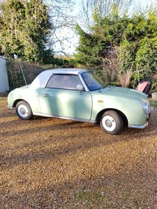 Picture of 1991 Figaro '91 automatic, emerald green, MOT til 10/21