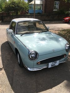 Picture of 1991 Beautiful Nissan Figaro, 42k miles, Rare pale aqua