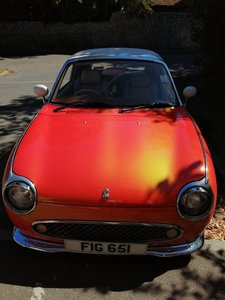 Orange Flame Figaro with Private Number Plate