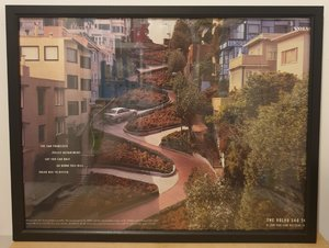 Picture of 1985 Original 1998 Volvo S40 Framed Advert
