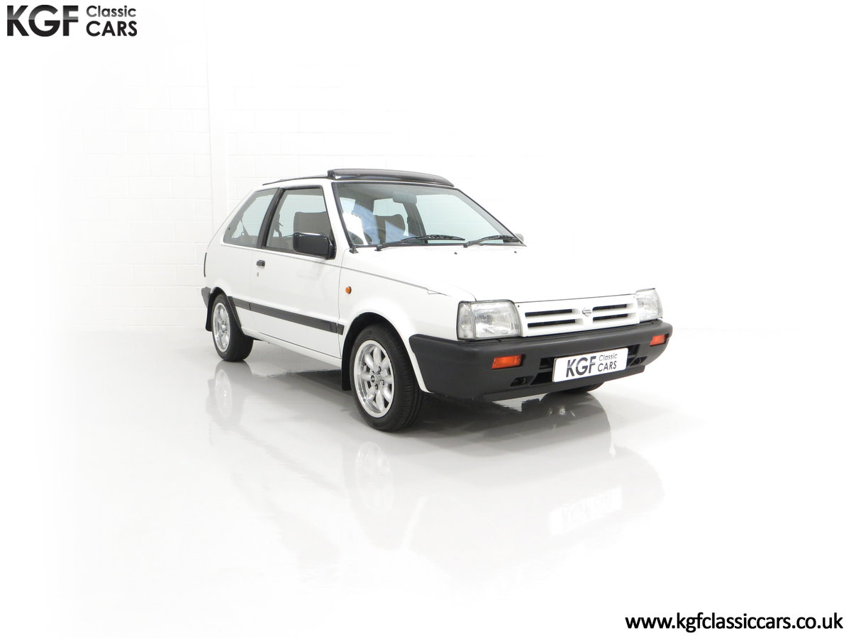 1990 A retro Nissan Micra 1.2 GS Suntop with Only 22,927 Miles SOLD (picture 1 of 24)