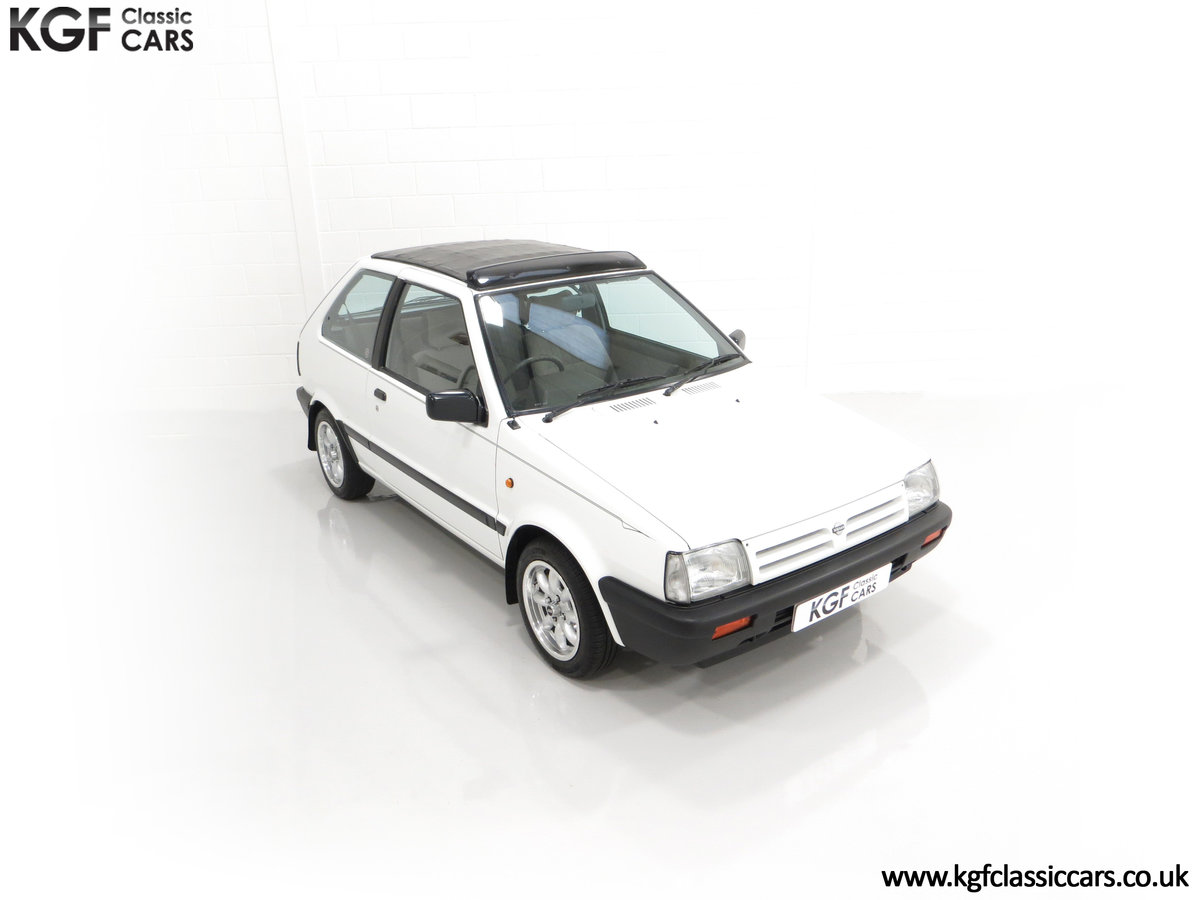 1990 A retro Nissan Micra 1.2 GS Suntop with Only 22,927 Miles SOLD (picture 2 of 24)