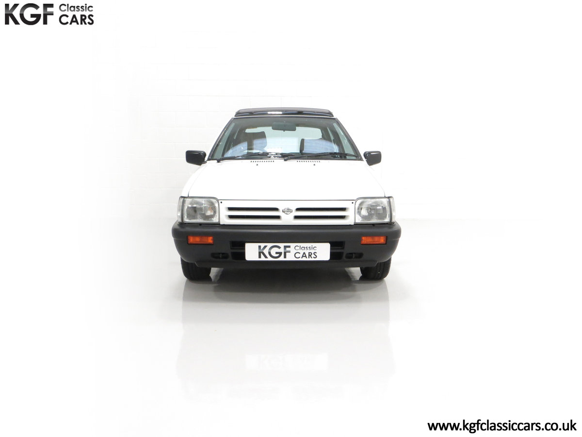 1990 A retro Nissan Micra 1.2 GS Suntop with Only 22,927 Miles SOLD (picture 3 of 24)