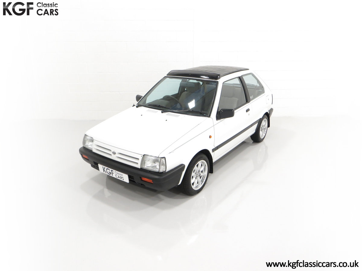 1990 A retro Nissan Micra 1.2 GS Suntop with Only 22,927 Miles SOLD (picture 5 of 24)