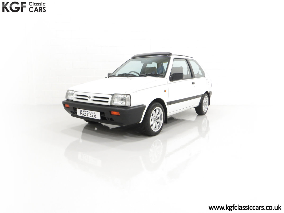 1990 A retro Nissan Micra 1.2 GS Suntop with Only 22,927 Miles SOLD (picture 6 of 24)