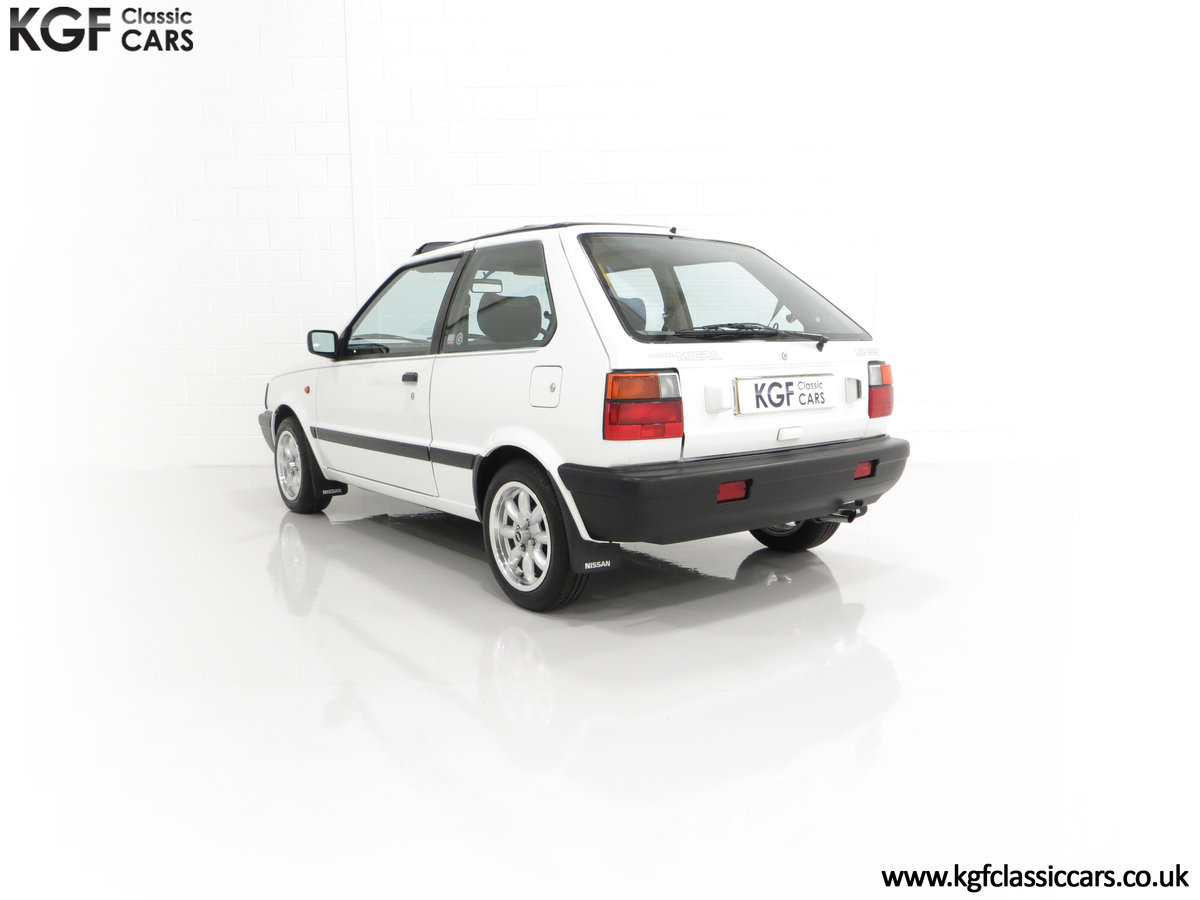 1990 A retro Nissan Micra 1.2 GS Suntop with Only 22,927 Miles SOLD (picture 8 of 24)
