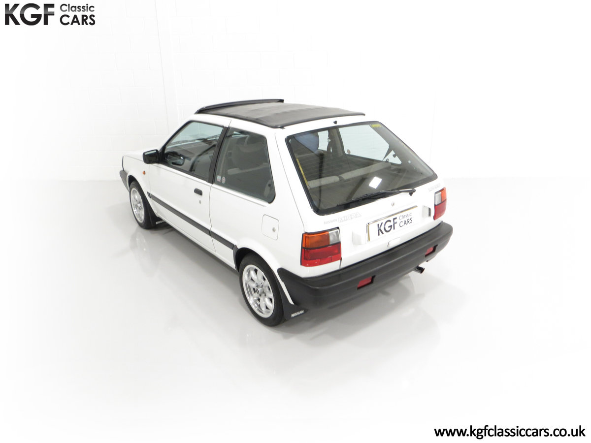 1990 A retro Nissan Micra 1.2 GS Suntop with Only 22,927 Miles SOLD (picture 9 of 24)