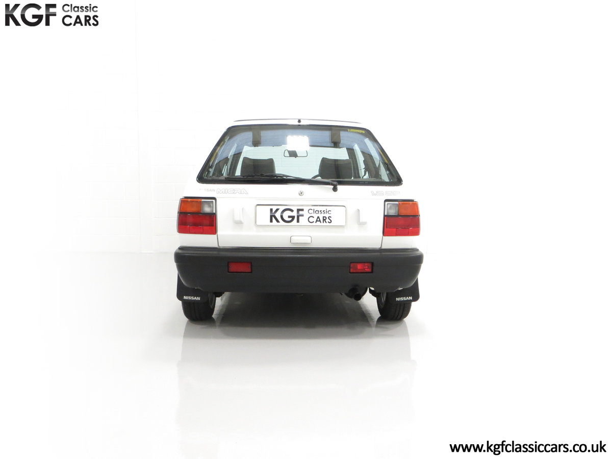 1990 A retro Nissan Micra 1.2 GS Suntop with Only 22,927 Miles SOLD (picture 10 of 24)