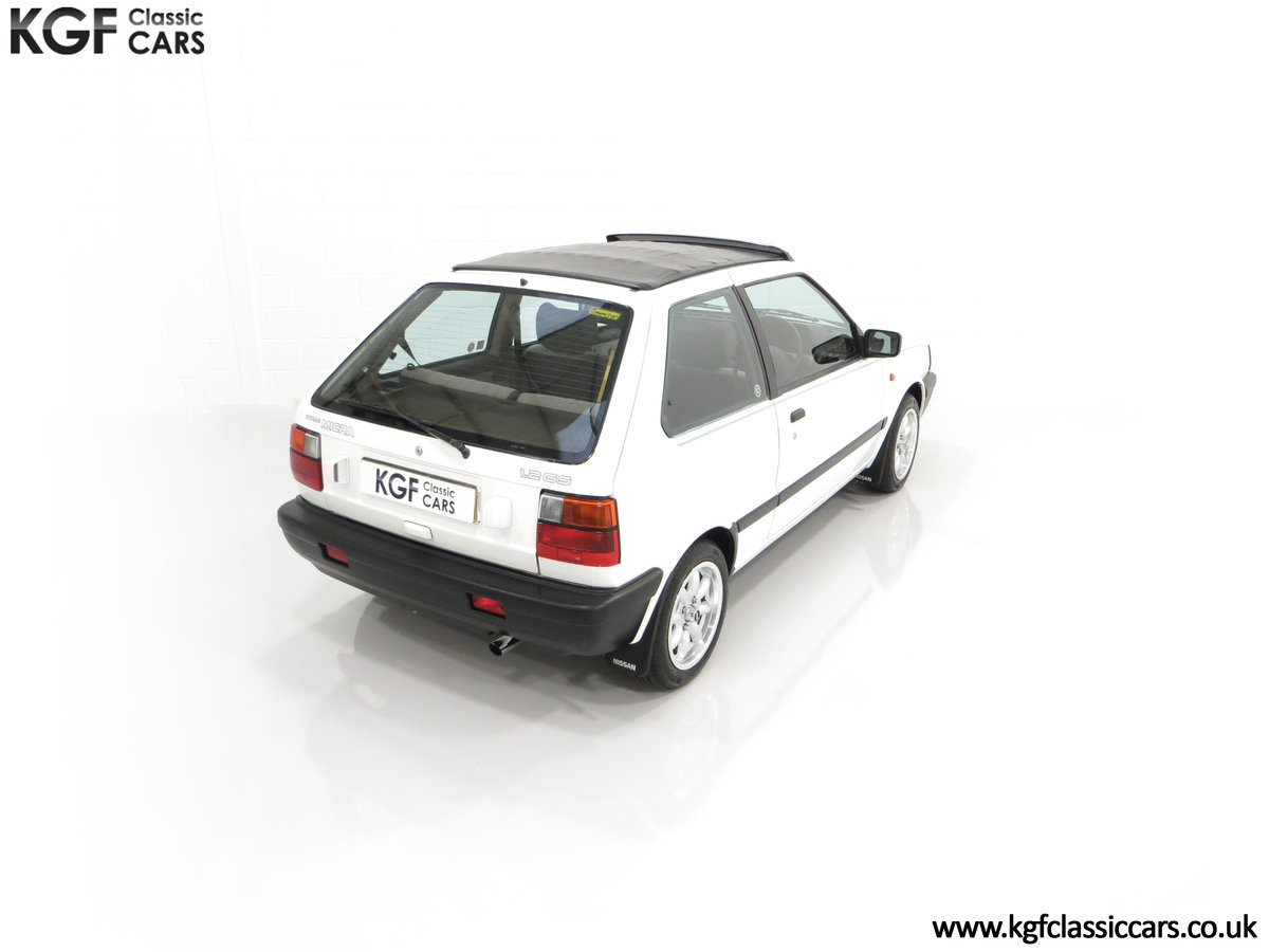 1990 A retro Nissan Micra 1.2 GS Suntop with Only 22,927 Miles SOLD (picture 12 of 24)