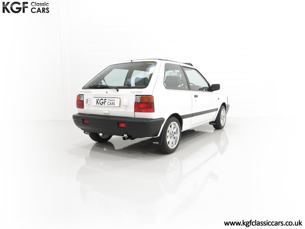1990 A retro Nissan Micra 1.2 GS Suntop with Only 22,927 Miles SOLD (picture 13 of 24)