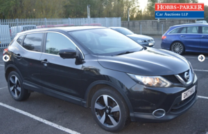 Picture of 2017 Nissan Qashqai Connecta DIG T - 89,121 Miles - Auction 25th For Sale by Auction