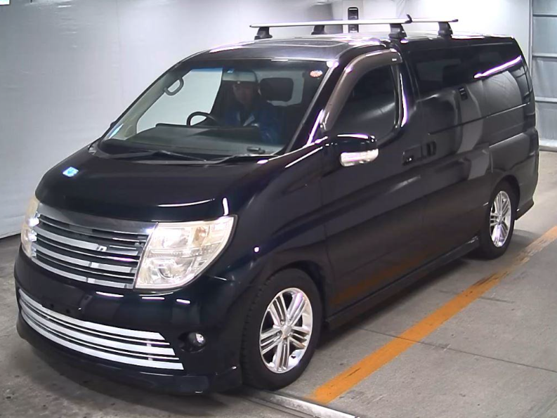 2004 NISSAN ELGRAND 3.5 RIDER S AUTOMATIC 8 SEATER * TWIN SUNROOF For Sale (picture 2 of 6)
