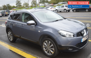 2010 Nissan Qashqai Tekna Dci 55,960 miles for auction 25th