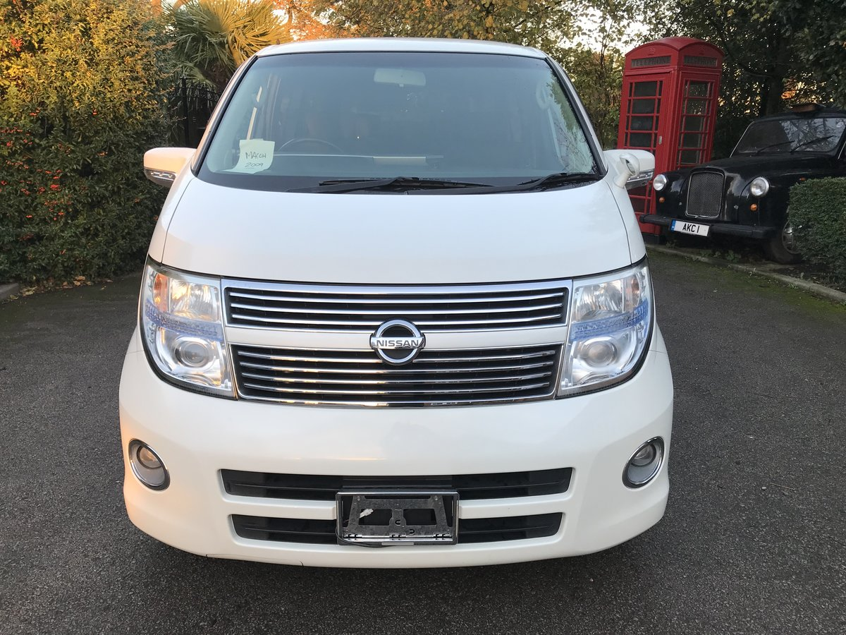 2009 Nissan Elgrand 2.5 V6 AUTO, HIGHWAY STAR, 8 Seats For Sale (picture 2 of 6)
