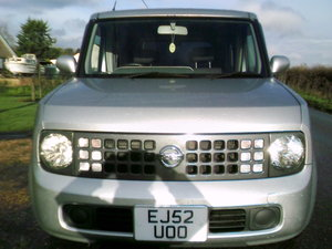 Picture of 2002 nissan cube 1.4 automatic finished in star silver metallic For Sale