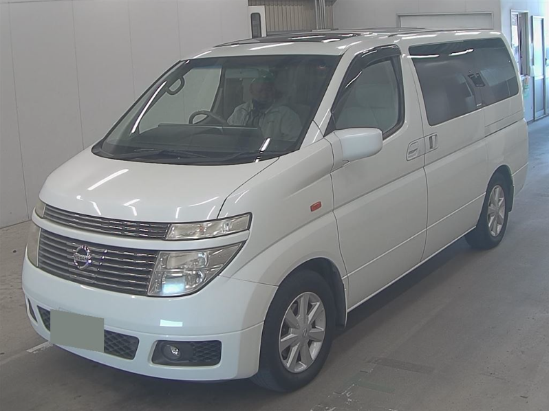 2004 NISSAN ELGRAND 3.5 XL 4X4 FULL LEATHER * TWIN SUNROOFS * For Sale (picture 1 of 6)
