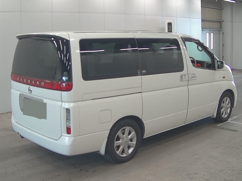2004 NISSAN ELGRAND 3.5 XL 4X4 FULL LEATHER * TWIN SUNROOFS * For Sale (picture 4 of 6)