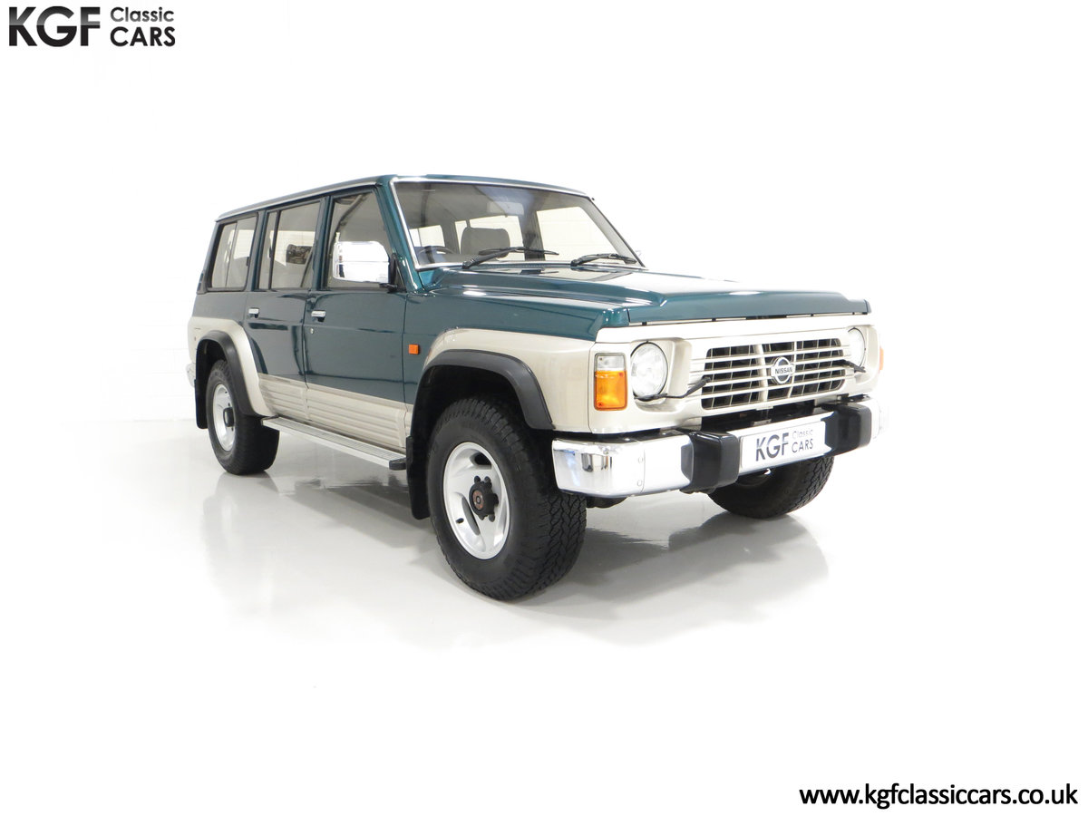 1998 A Formidable Nissan Patrol GR SE Auto 5-door 7 seater SOLD (picture 1 of 30)