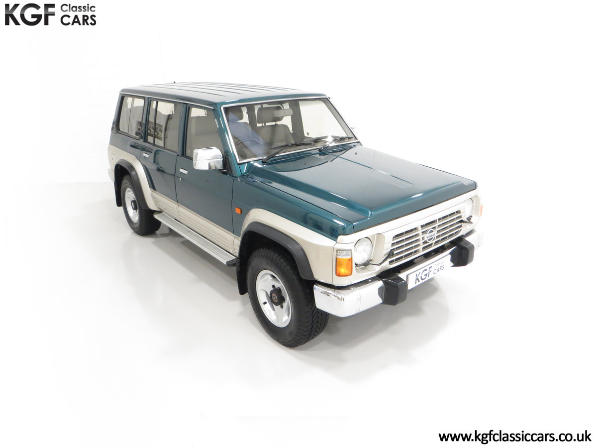 1998 A Formidable Nissan Patrol GR SE Auto 5-door 7 seater SOLD (picture 2 of 30)