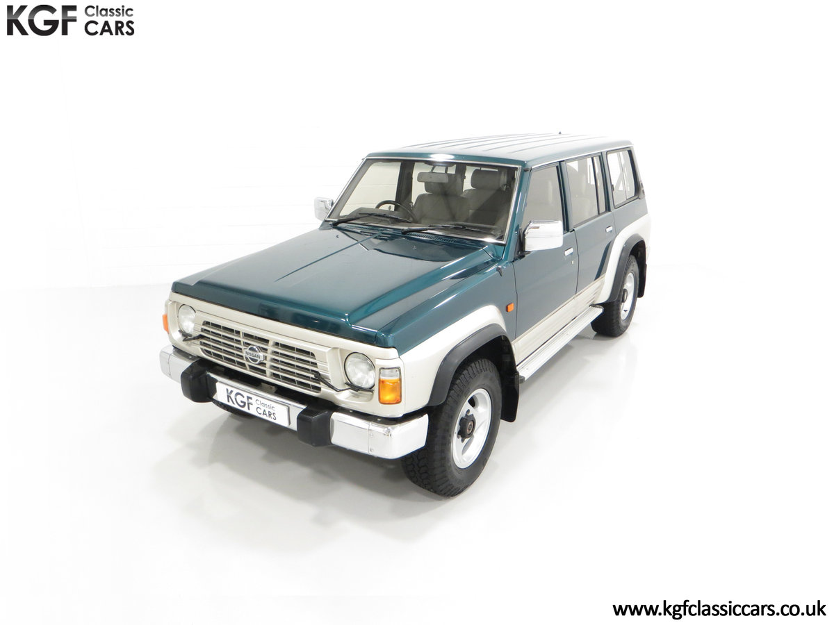 1998 A Formidable Nissan Patrol GR SE Auto 5-door 7 seater SOLD (picture 5 of 30)