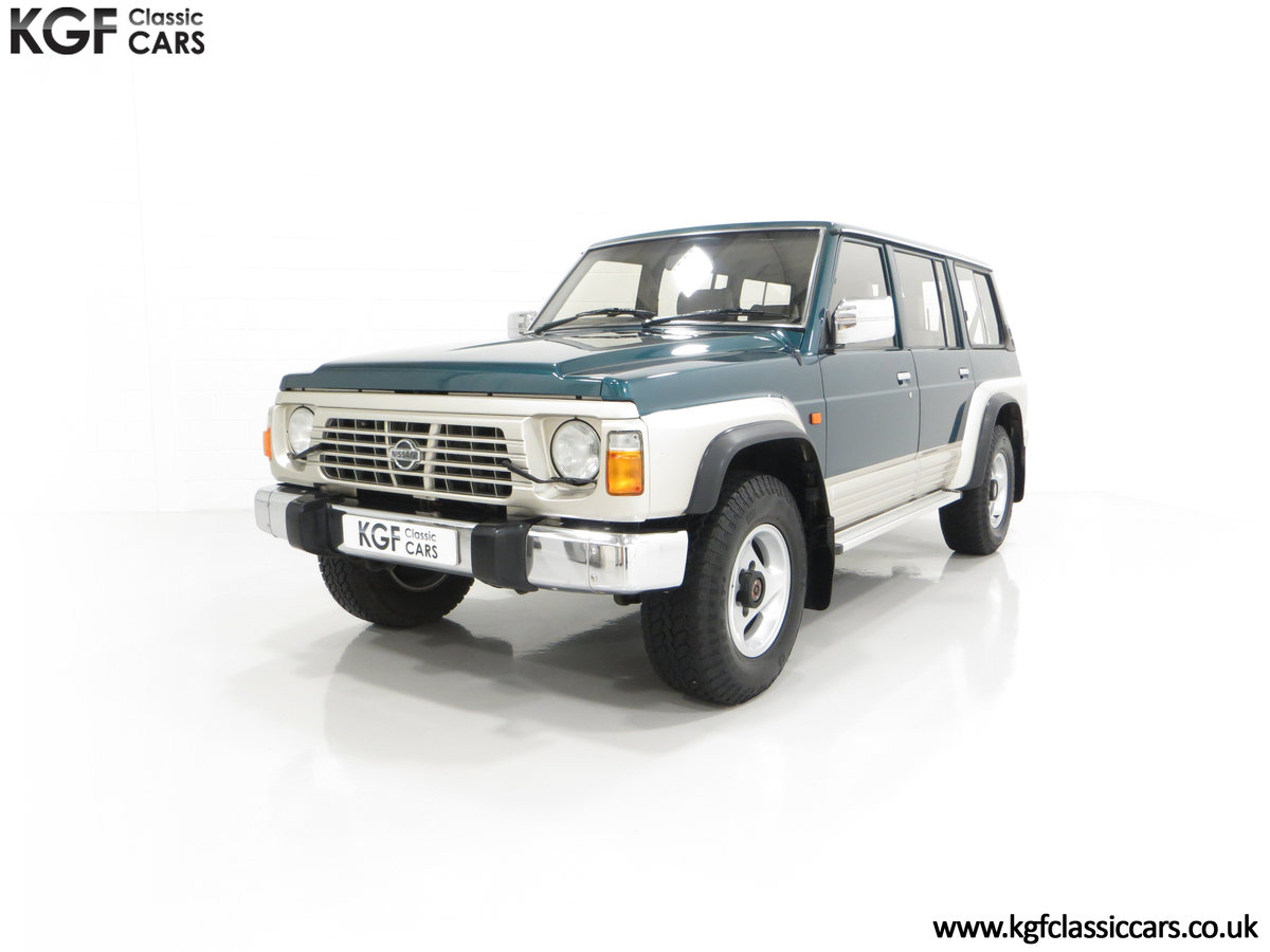 1998 A Formidable Nissan Patrol GR SE Auto 5-door 7 seater SOLD (picture 6 of 30)
