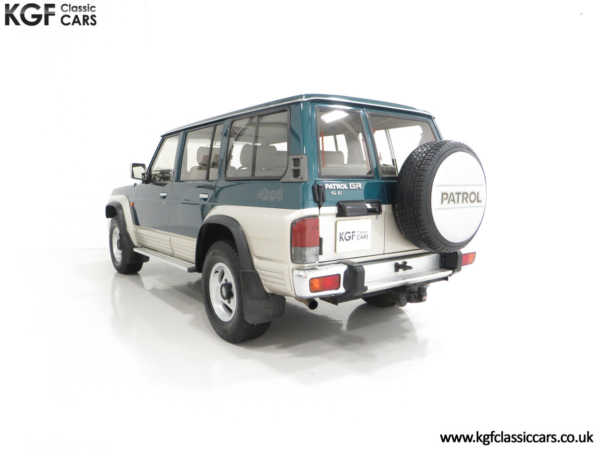 1998 A Formidable Nissan Patrol GR SE Auto 5-door 7 seater SOLD (picture 8 of 30)
