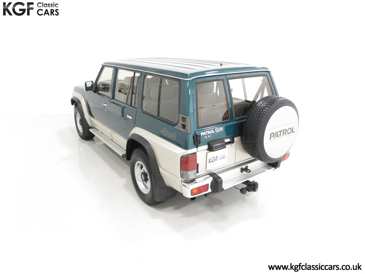 1998 A Formidable Nissan Patrol GR SE Auto 5-door 7 seater SOLD (picture 9 of 30)